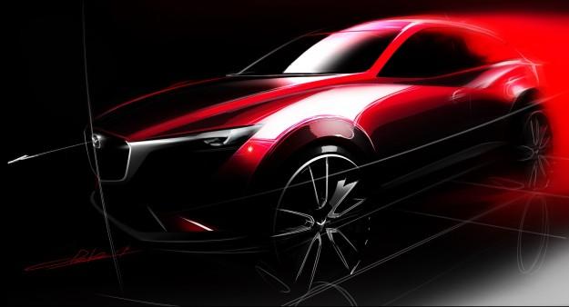 Pracowity rok w wykonaniu Mazdy, nowy model CX-3