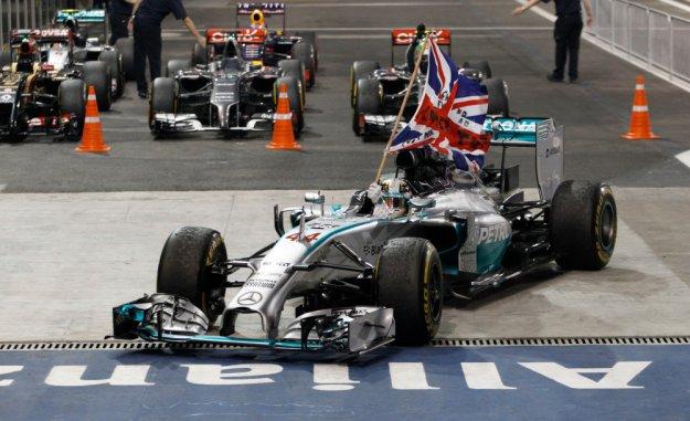 Mistrzem F1 sezonu 2014 został Hamilton