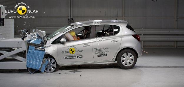Wysokie oceny podczas testów Euro NCAP