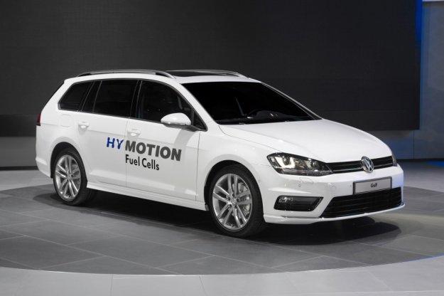 Golf Variant HyMotion z koncepcyjnym silnikiem