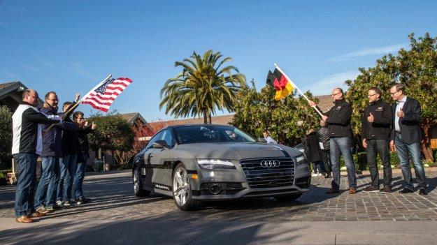 Audi dołącza do producentów z samochodem autonomicznym
