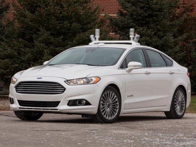 Ford także będzie miał autonomiczny samochód