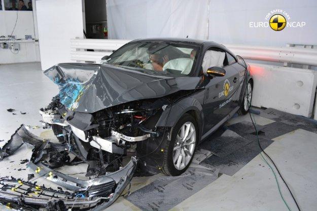 Nowe wyniki EuroNCap, tych Audi raczej się nie spodziewał