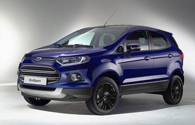 Ford EcoSport będzie dostępny także bez tylnego koła