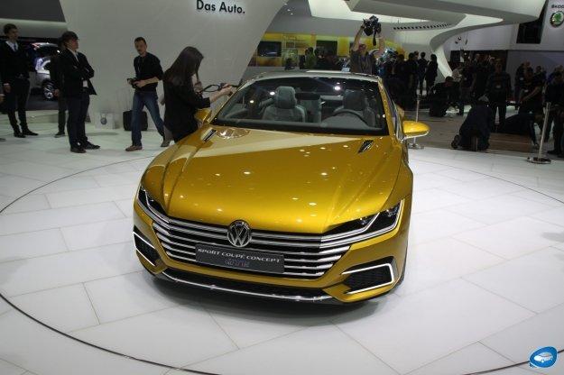 Wizja nowego sportowego Coupe Volkswagena