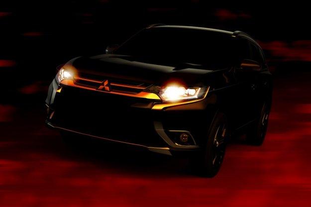 Mitsubishi przedstaw nowego Outlandera w Nowym Yorku