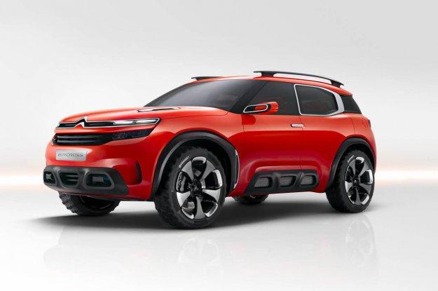 Citroen pręży muskuły nowym koncepcyjnym SUVem