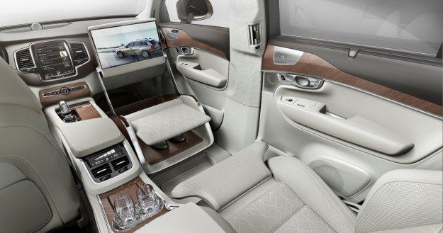 Volvo XC90 najwyższa klasa komfortu - Lounge Console