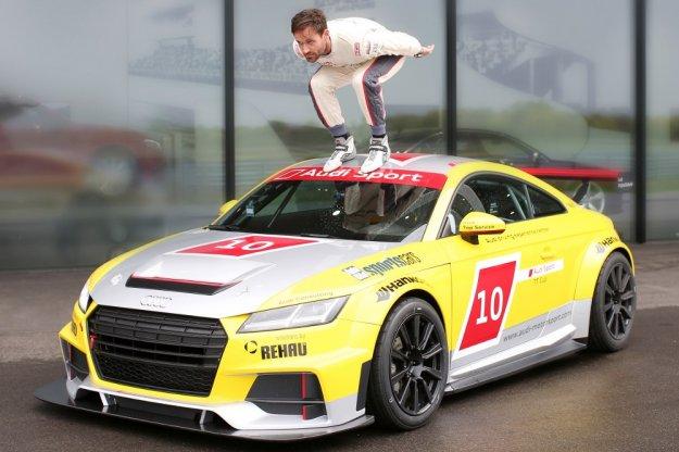 Nowe Audi TT we własnej serii wyścigowej z gwiazdą