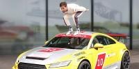 www.moj-samochod.pl - Artykuďż˝ - Nowe Audi TT we własnej serii wyścigowej z gwiazdą