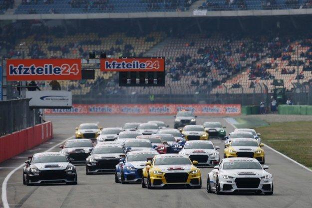Pierwszy sezon Audi TT Cup rozpoczęty