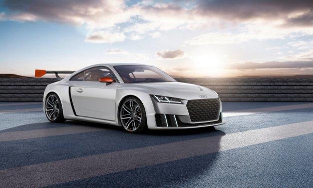 Piekielnie szybkie Audi TT, wersja clubsport turbo