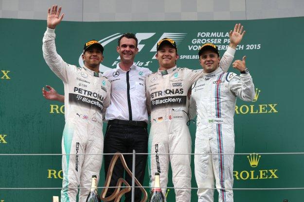 GP Austrii, także dla niemieckiego zespołu