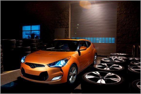 Hyundai Veloster - zwinne coupe