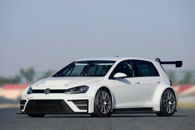 Volkswagen z nowym wyścigowym Golfem