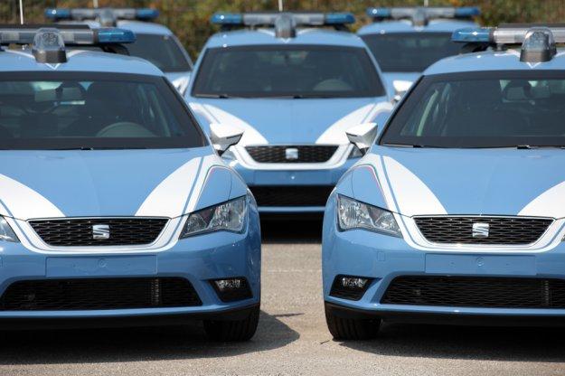 Włoska policja z nowymi kuloodpornymi Seatami