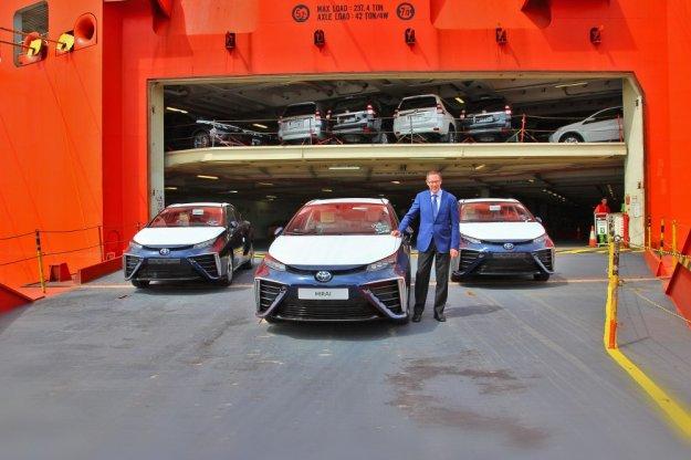 Pierwsza dostawa prawdziwych ekologicznych samochodów