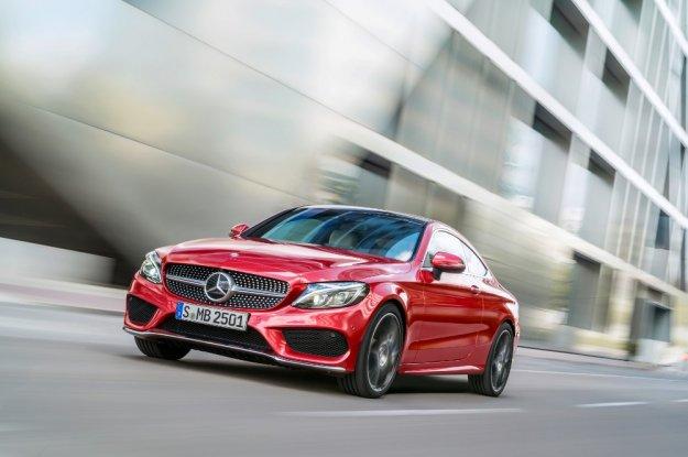 Mercedes poszerza ofertę C-klasy o nowe Coupe